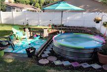 stock tank pools!