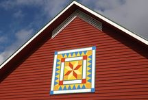 barn quilts / by Wood Crafted Furniture