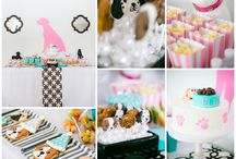 Girls Birthday Party: Preppy Puppy Dog / Girls Birthday Party: Preppy Puppy Dog Theme