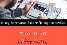 Blogging | astuces + ressources / Contenu, articles, ressources  et astuces pour bien bloguer.  blogueur | blogueuse | wordpress