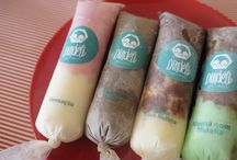 sorvete geladinho e sacole