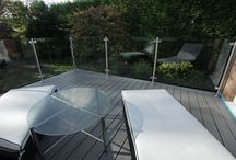 Trex Transcend Residential Project - Ormskirk / Trex composite decking recycles 1.5 billion shopping bags each year and hasn't felled a single tree for deck manufacture during its 20-year history. Trex Transcend is the most weather resistant, low maintenance composite decking product on the market, it won't warp or splinter, it will never require staining or painting, it is fade, stain, mould, rot and scratch resistant and will look as good in 25-years as it does today.