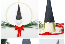 Gnomes - Tomte, Nisse, Gnome, Elves / Adorable Christmas gnomes, tomte, nisse, and even gnomes for all seasons. Valentine's Day gnomes, holiday gnomes, nature gnomes, garden gnomes - all DIY gnomes!