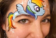 My little pony facepaint