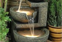 Water fountains indoor