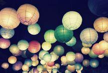 Lampions et fanions
