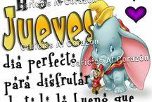 Dias d la semana◆◆ / by ♥Clary Fno Velez♥