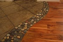Flooring  / When choosing flooring remember to select something that not only pleases your eye, it must withstand your lifestyle.