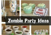 zombie party ideas
