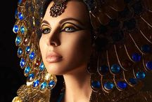Cleopatra headdress for film