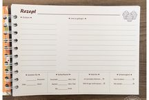 Rezeptbuch / Ideen und Anregungen für ein eigenes Rezeptbuch