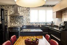 Decoração  - Cozinhas / As melhores fotos de cozinhas, artigos com dicas e truques de decoração para cozinhas planejadas, cozinha americana, cozinhas pequenas. Ideias para armário de cozinha e jogos de cozinha. Tudo o que você precisa saber sobre cozinhas.