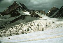 Pakistan / Hiking the Biafo and Hispar glaciers with the breathtaking Snowlake. 1994 Analog pictures.