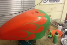 Airbrush projects
