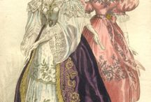 1830-1840 Courtdress