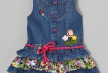 gaun bahan lee untuk anak