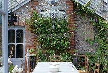 Trädgård orangeri