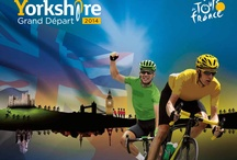 Le Tour Grand Depart / Tour de France is coming to Yorkshire in 2014! We will have the perfect view as the cyclists pass by our front door..!