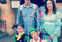 Pinocchio family themed costume