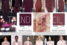 Tendencias : Trend Council is excited to present the FW17 Key Fashion Color Report.