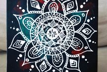 mandalas on canvas