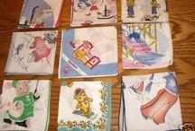 vintage children's hanky's