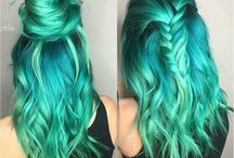 Green/Blue Hair