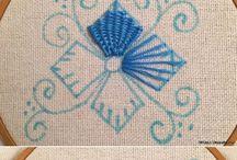 вышивка,вязание