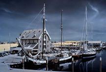 14 Museum harbours