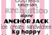 31 Typography Tyyppejä