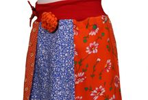 Om zelf te maken / Allerlei ideeen om te recycelen bv van tshirt en overhemd een jurkje maken, of van oude trui een wollen rokje