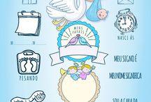 quadro maternidade menino