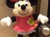 Minniemouse crochet