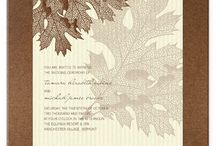 Fall Wedding Design / Contact LM Design for custom Invitation Design & Printing (Including Letterpress)  www.LMDesign.co Lindsey@LMDesign.co