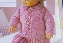 tricots poupees