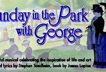 "SUNDAY IN THE PARK WITH GEORGE  / An insightful, funny, and deeply moving Pulitzer Prize-winning musical, inspired by Georges Seurat's pointillist masterpiece ""A Sunday Afternoon on the island of La Grande Jatte."" Music and lyrics by Stephen Sondheim. Book by James Lapine. / by Peninsula Players Theatre"