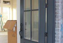 Rod iron Ben moore for garage doors
