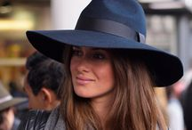 hat style / fedoras, floppy hats, beanies and the like