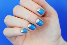 Simple nail art / by Rebecca Needes