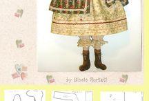 modelli bambole