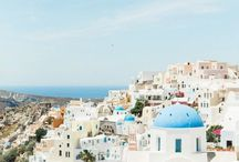 Stunning Destination Wedding in Santorini