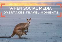 When social media steals away travel moments and memories