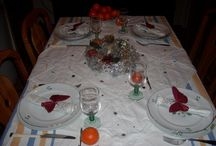 MES TABLES DE FÊTE / Mes décors de table pour les fêtes