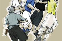 """Una Locandina per """"Il Quadrilatero"""" / La passione per il calcio retrò e per l'illustrazione si incontrano nel concorso """"Il Quadrilatero"""", un documentario sportivo che racconta le persone fra quattro piccoli campi fangosi, dove fecero nascere la storia del calcio italiano."""