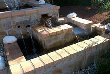 Fuentes y Estanques / Construcción de fuentes y estanques.  #jardineria #jardinero #jardin #estanque #fuente