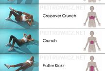 Abs exercises / Ab exercises