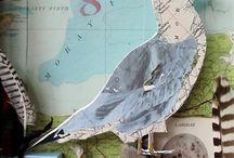 Map art project ideas