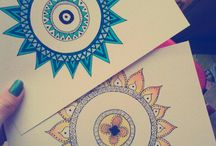drawings/mandalas