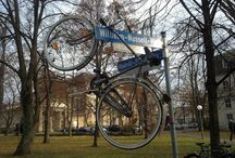 Bicicletários Improvisados