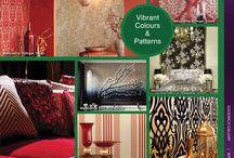Joy In Style / Ready to start THE FESTIVE SEASON?  This Hari Raya Puasa, Deepavali and Christmas accentuate certain areas of your living space with new wallcovering or cushion covers. It may not be an expensive affair.